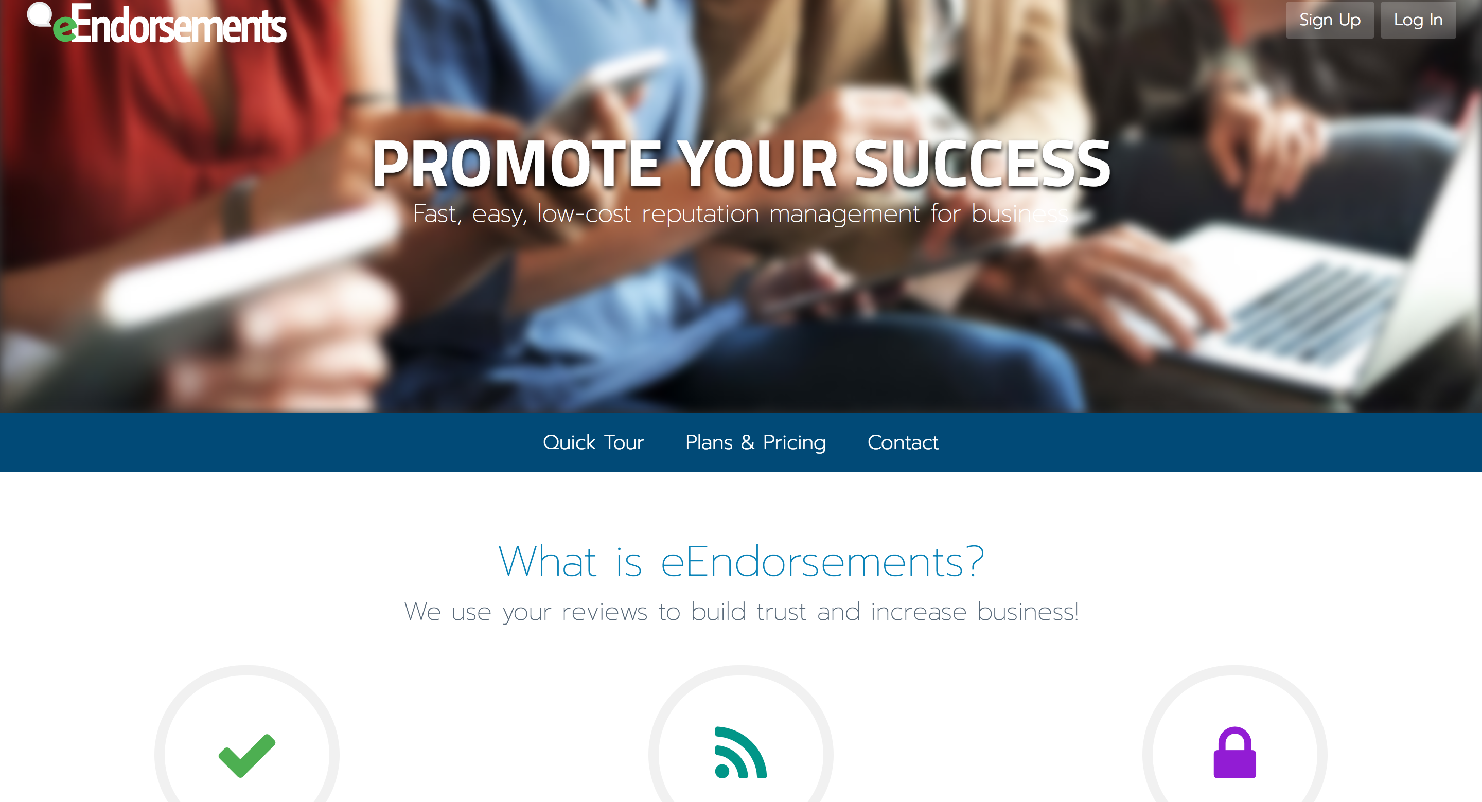 eEndorsements Relaunch