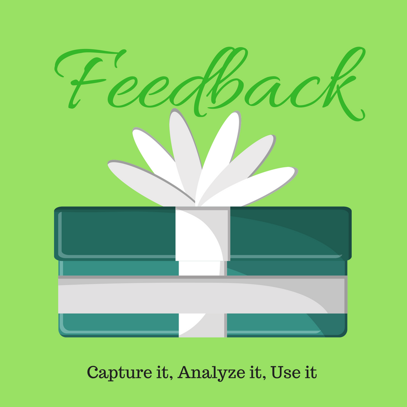 feedback improves service