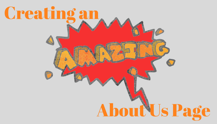 creating an amazing about us page