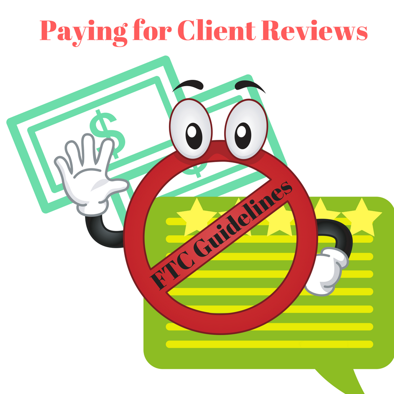 paying for reviews