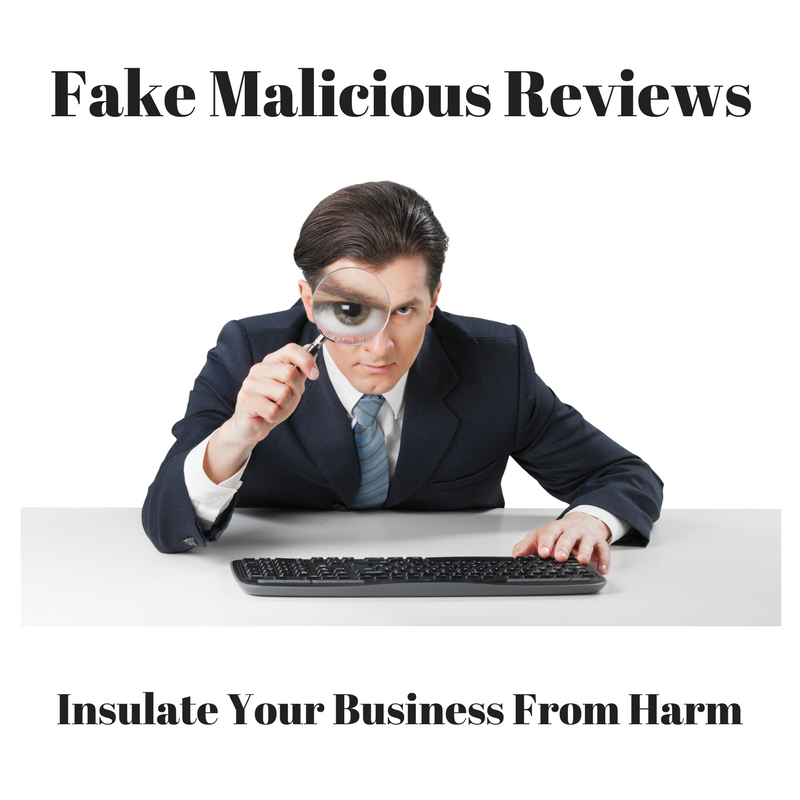 fake malicious reviews