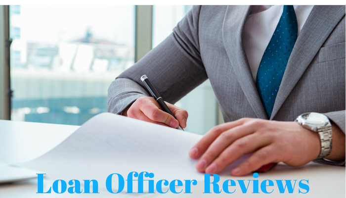 loan officer reviews