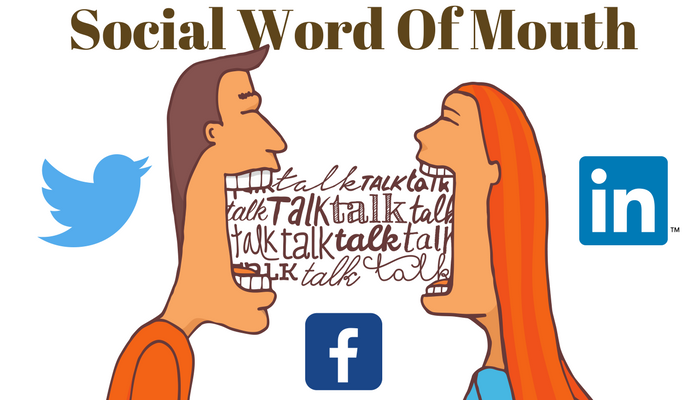 social word of mouth