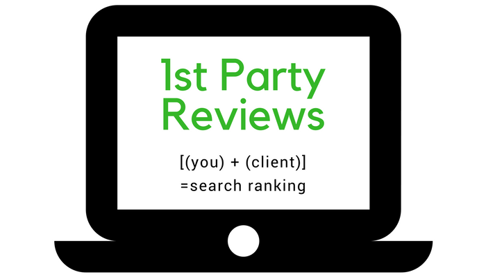 first party client reviews