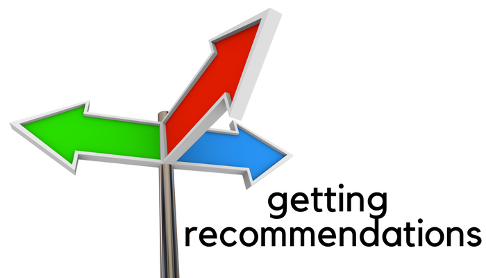 getting recommendations