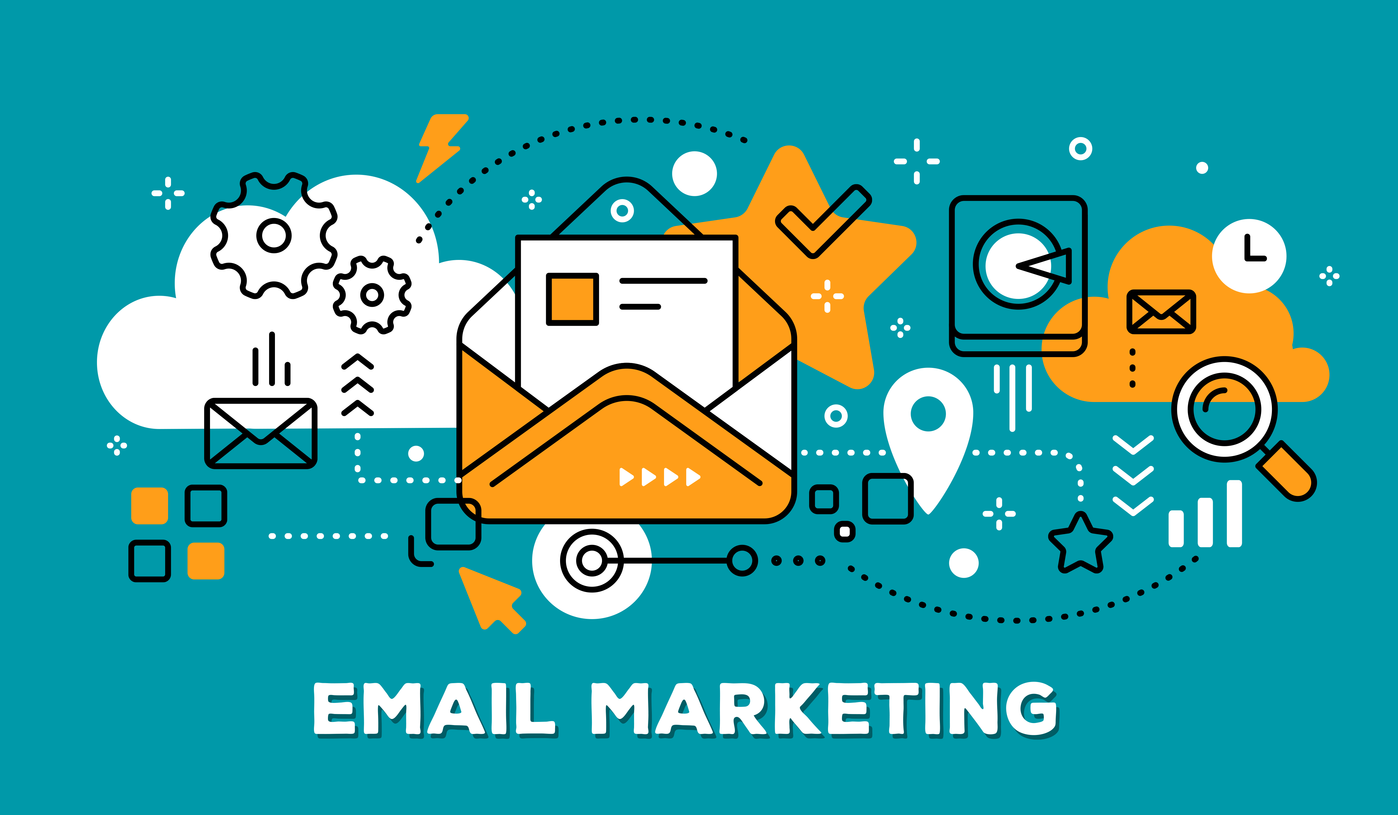 email marketing combined with social media